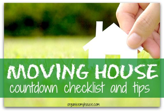 Checklist of moving house tips - things to do in the countdown to moving house. Get your house move organised and don't leave anything to chance.