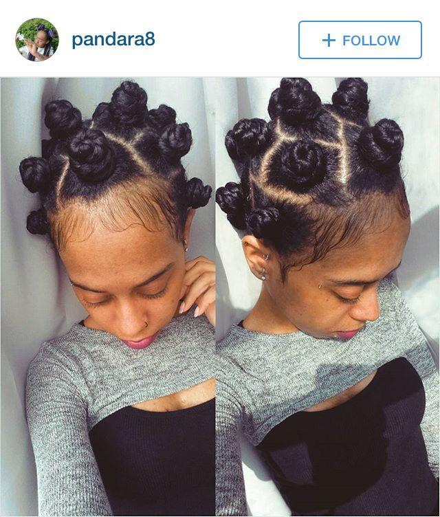 basket weave hairstyle : Bantu Knots http://www.shorthaircutsforblackwomen.com/coconut-oil-for ...