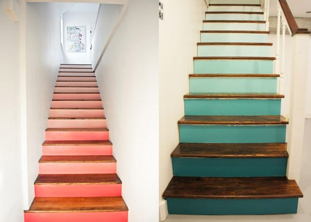 17 best ideas about peindre un escalier on pinterest compte live design blog and design d - Relooking trap ...