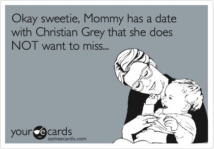 Christian Grey Ecard