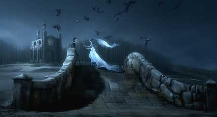 Tim Burton's Corpse Bride - Stolen Dreams - Warner Brothers Fine Art - World-Wide-Art.com - #disney #timburton #corpsebride