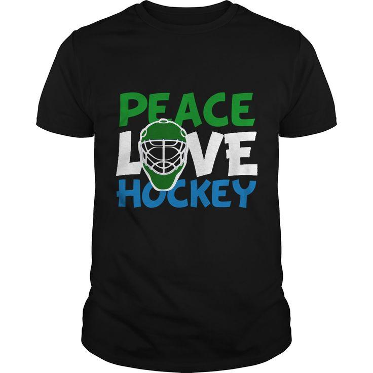 Peace Love Hockey t shirts and hoodies