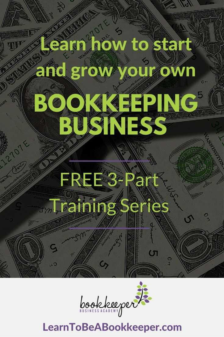 15 best bookkeeping business images on pinterest bookkeeping new free class shows how to start grow your own bookkeeping business malvernweather Gallery