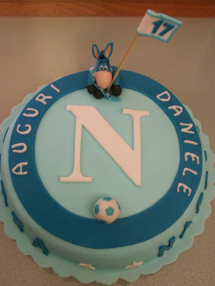 torta squadra Napoli