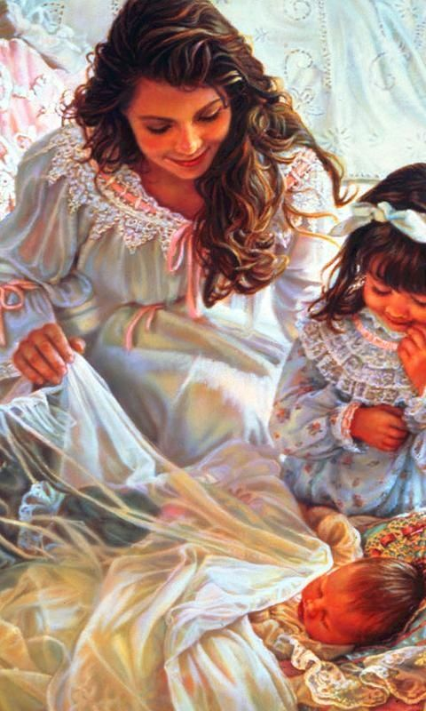 Angels by Sandra Kuck.  I love this picture.