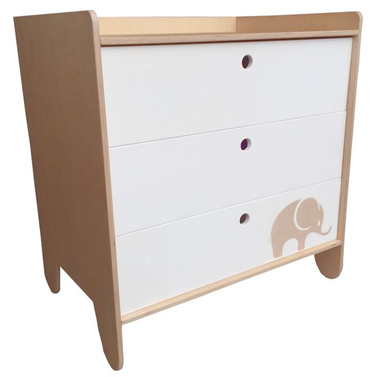 Modern Compactum With Elephant Detail