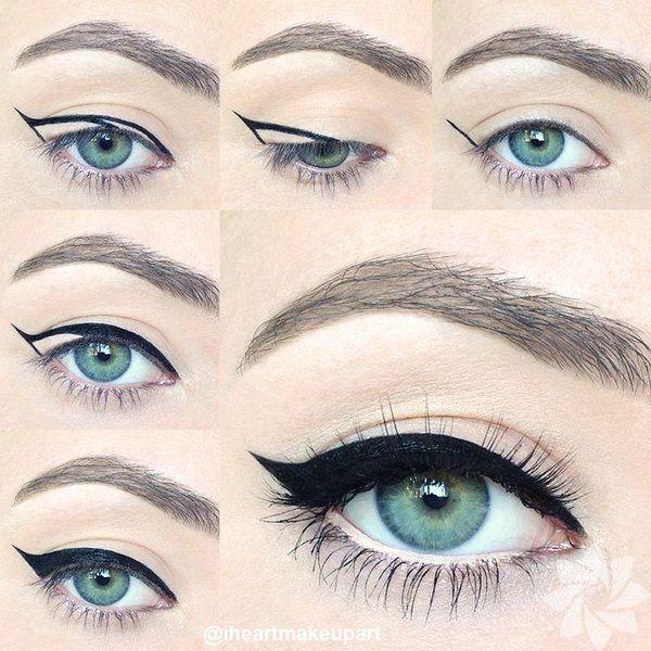 Eyeliner çekme tüyoları