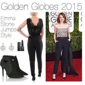 Golden Globes 2015 : Emma Stone