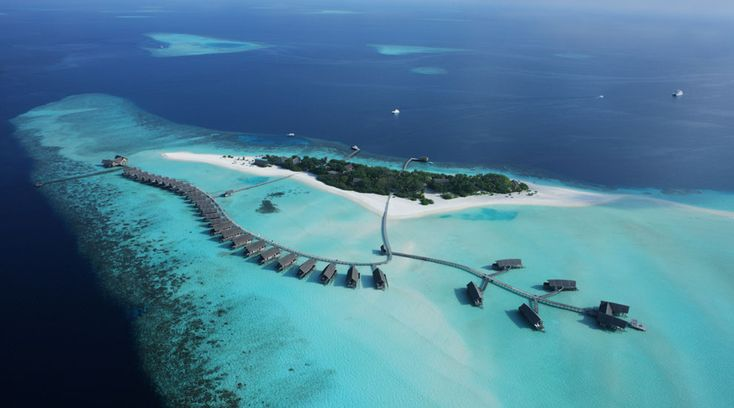 I think this is my favorite..Coco Island, Maldives.