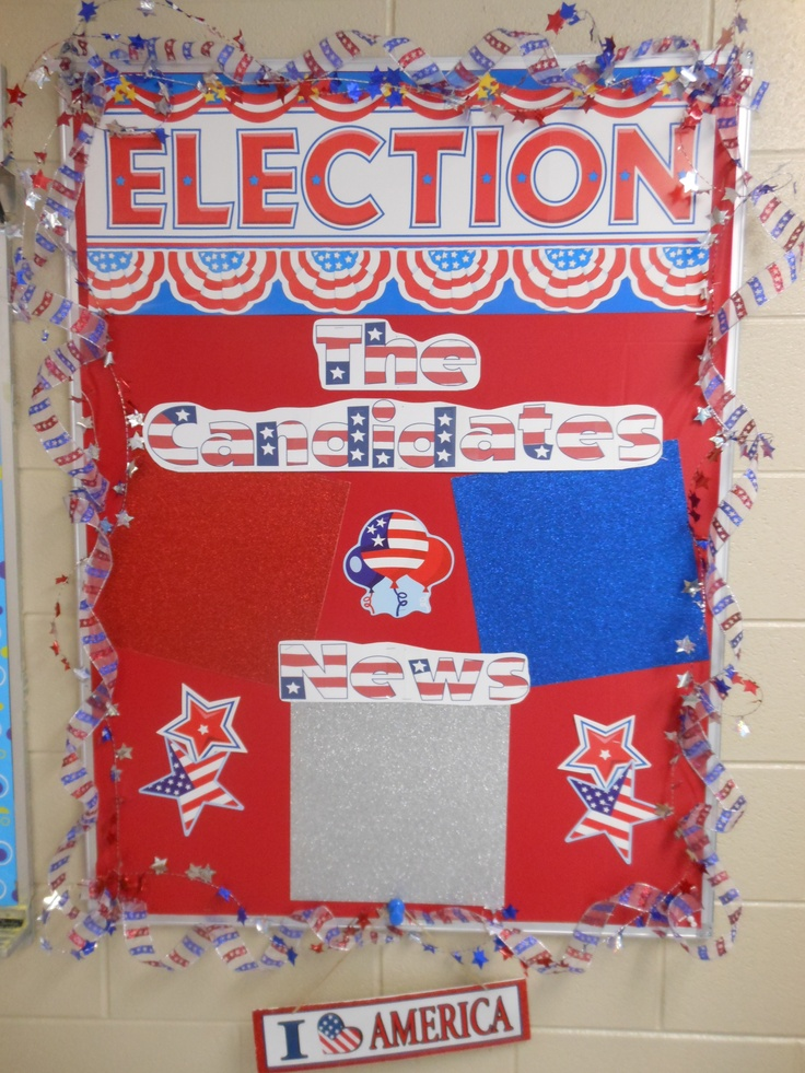 Classroom Voting Ideas ~ Bulletin boards middle school social studies interactive