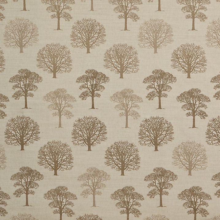 Buy John Lewis Wisley Furnishing Fabric, Brown Online at johnlewis.com
