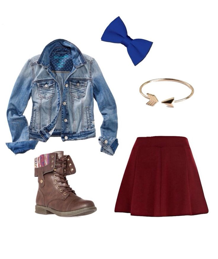 Cute Outfit With Skater Skirt