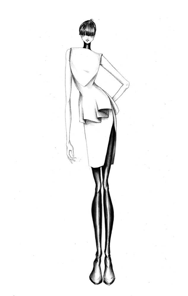fashion illustration templates - Google Search