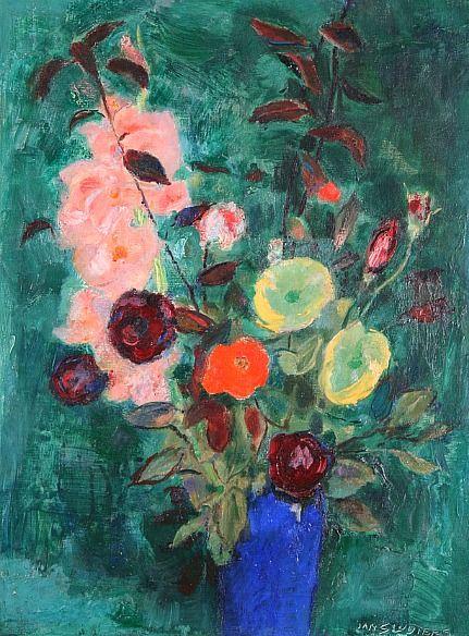 "Jan Sluijters ""Floral Still Life"" 1930"