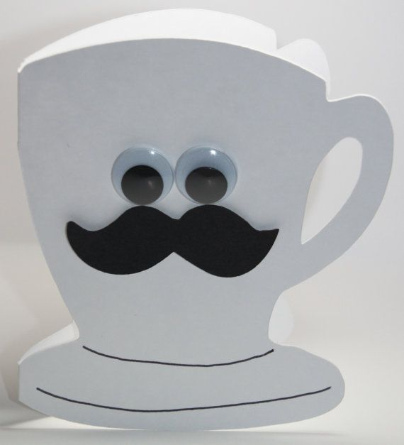 "Coffee Mug Card - says ""I miss your mug"" - cute!"