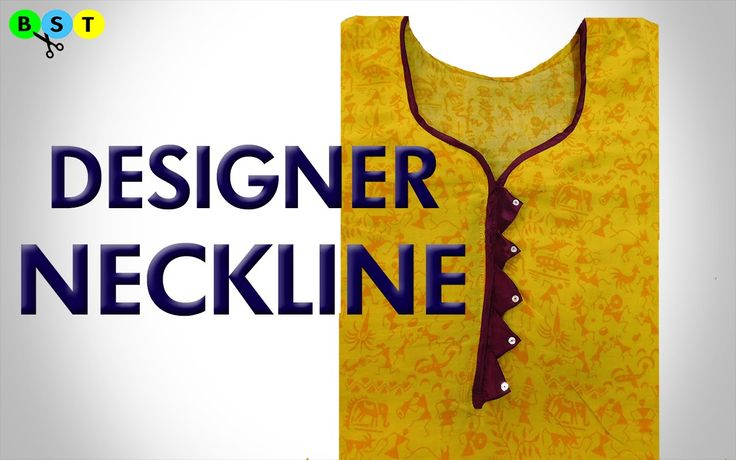 Designer Neckline for Kurti - YouTube
