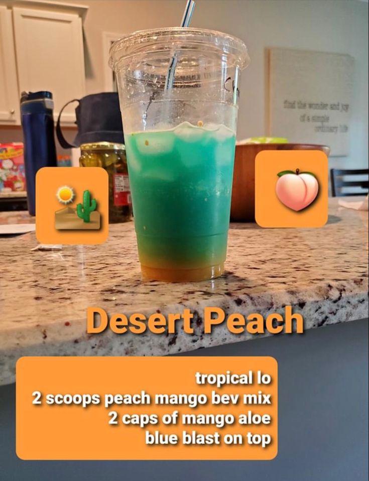 Desert peach tea with beverage mix herbalife recipes