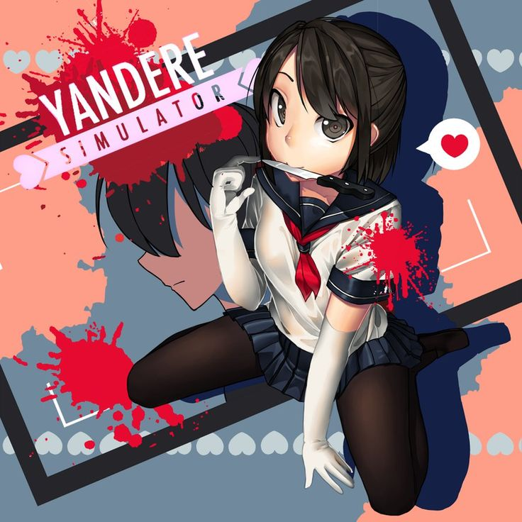 Yandere-chan by ColorMelted on DeviantArt