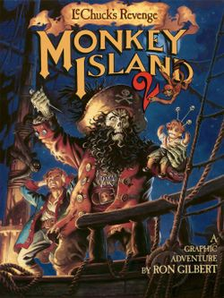 Monkey Island 2: LeChuck's Revenge is an adventure game developed and published by LucasArts in 1991.  #monkeyisland2 #lucasarts #pixelart