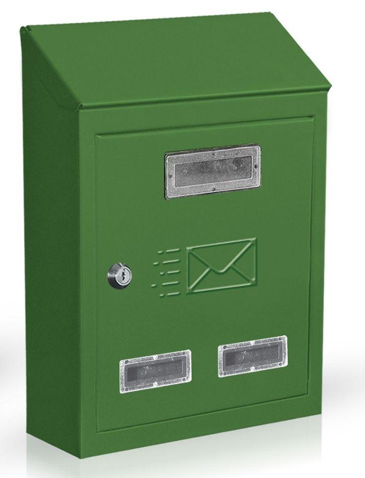 CASSETTA POSTALE VERNICIATA VERDE MODELLO CITY CM. 18x6x25h http://www.decariashop.it/cassette-della-posta/3363-cassetta-postale-verniciata-verde-modello-city-cm-18x6x25h.html