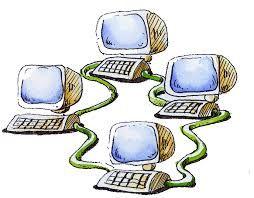 Red: Una red de computadoras es una interconexión de computadoras  para compartir información, recursos y servicios. Esta interconexión puede ser a través de un enlace físico (alambrado) o inalámbrico.