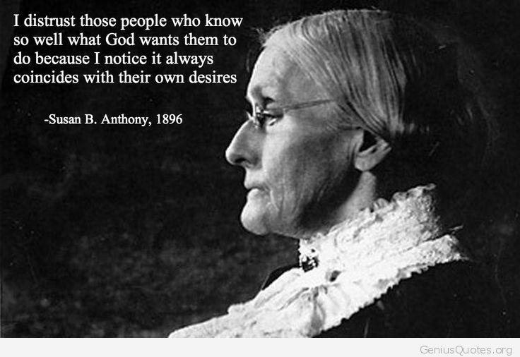 Susan Anthony Quotes. QuotesGram