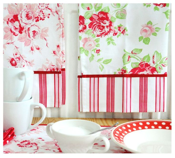 These Tea Towels Make Great Inspiration!! Pillowcases...curtains.