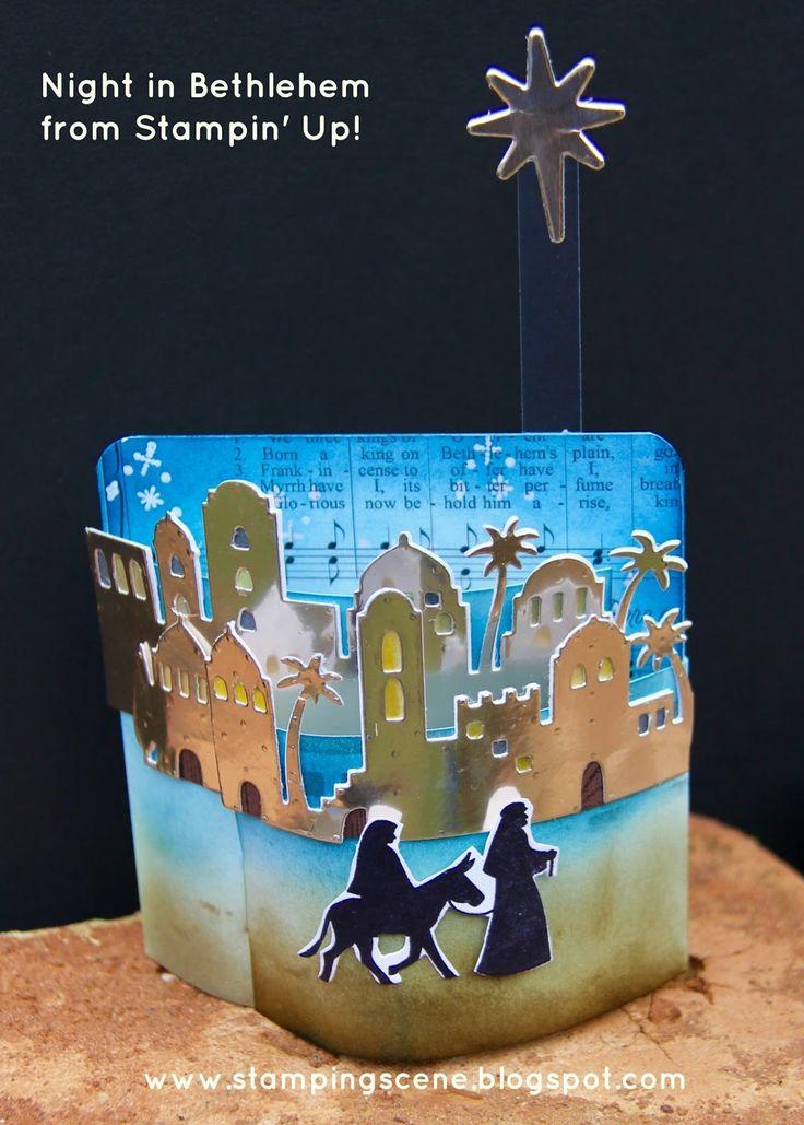 25 Best Stampin Up Night In Bethlehem Images On Pinterest