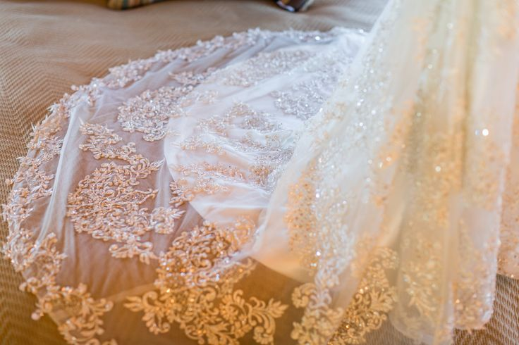 Jessica + Sean | San Luis Obispo, Ca gown, beaded gown, train, lovely bride, A Lovely Creative | photography: Cameron Ingalls