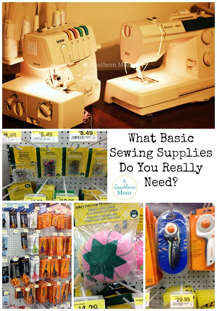 Basic Sewing Supplies-What Do You Really Need