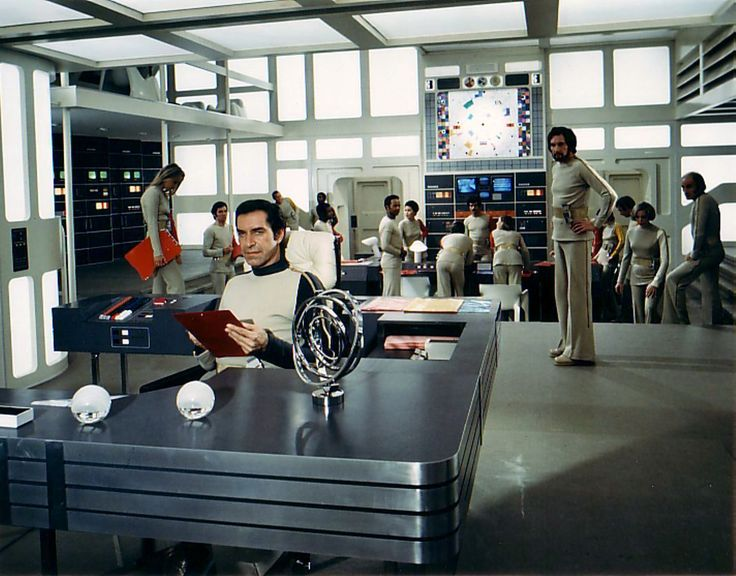 The BIG set from season 1  #space1999  #eagletransporter