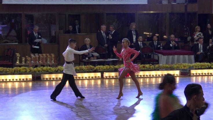 WDSF World Championship Junior II Ten Dance*MARIA SI COSMIN* Semifinal S...