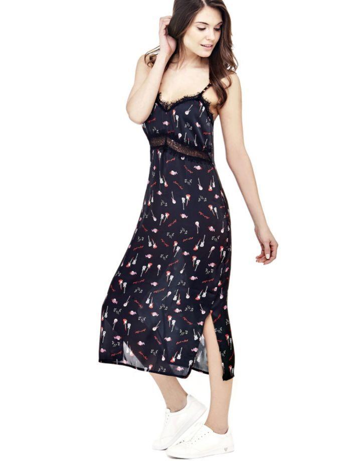 EUR89.90$  Buy now - http://vihwg.justgood.pw/vig/item.php?t=po6byi57953 - ROCK PRINT DRESS