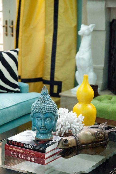 marvellous turquoise yellow living room | 70 best Turquoise Home Decor images on Pinterest ...