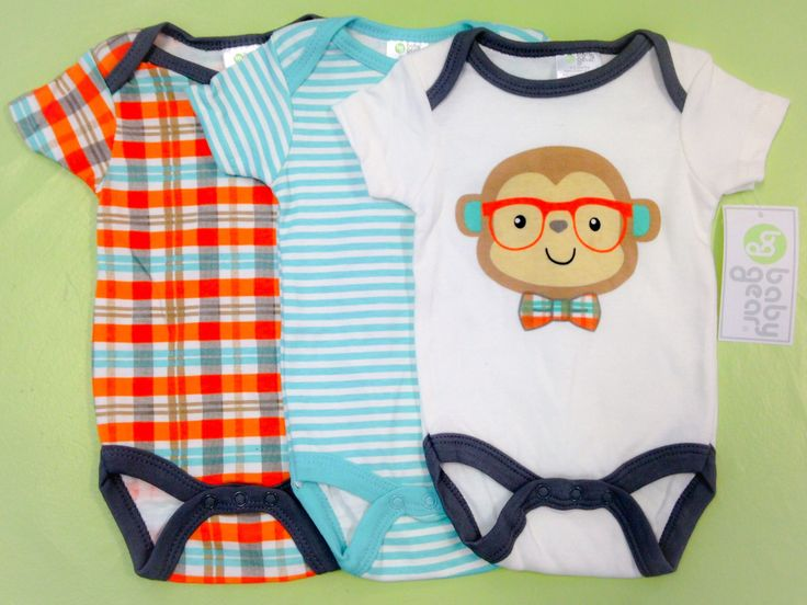 Cool Baby Racoon 3 piece onsies set - 100% cotton