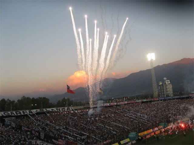 CSD #ColoColo // Fuegos artificiales