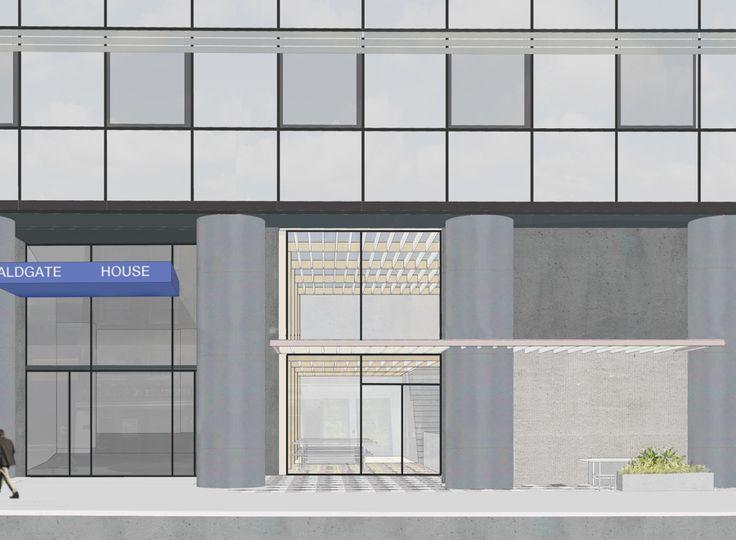 Aldgate House Cafe | Feilden Fowles