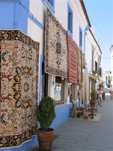 Arraiolos carpet dates back to the 1500s #Marvao #Alentejo #Portugal www.enjoyportugal.eu Enjoy Portugal - Cottages and Manor Houses Great Holidays - Weddings - HoneyMoon