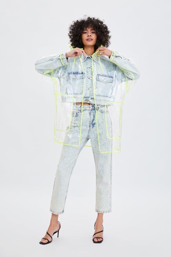 013b4b561 Transparent raincoat in 2019   Clothes   Transparent raincoat, Clear ...