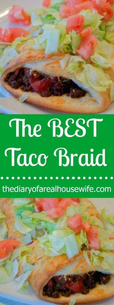 The BEST Taco Braid! This recipe was so simple and easy to make. I love the way it turned out!