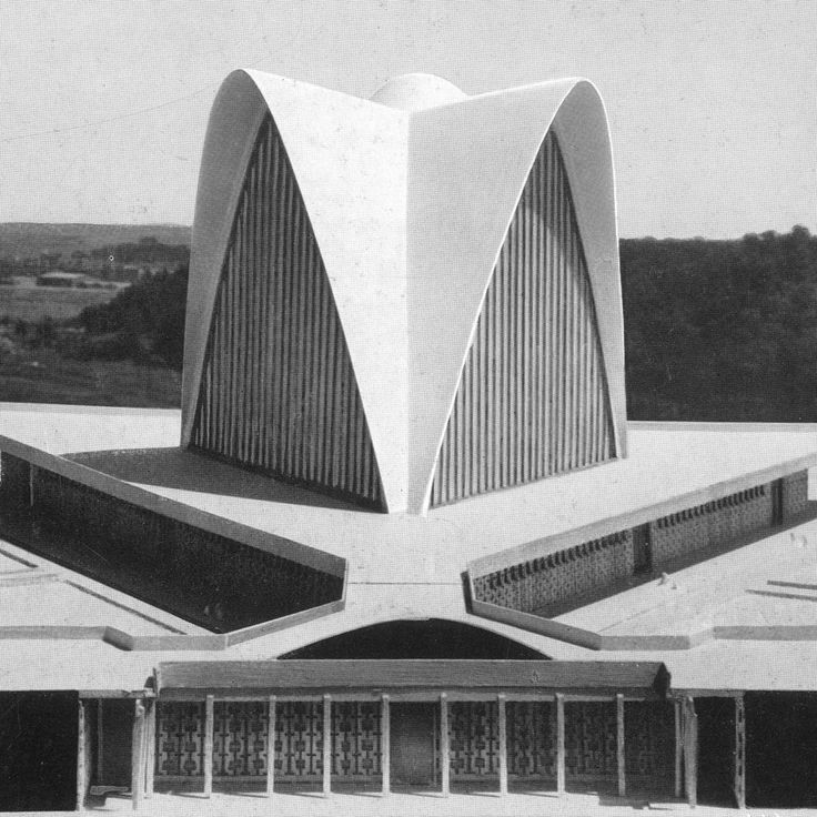 New Nocia Cathedral | Pier Luigi Nervi                                                                                                                                                                                 More