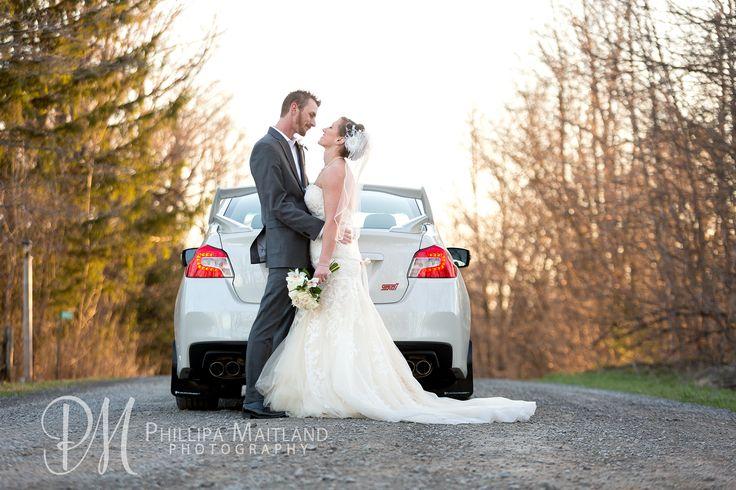 #Ottawa #Wedding #OttawaWeddingPhotography #StrathmereWedding #Bride #Groom #HusbandAndWife #Car