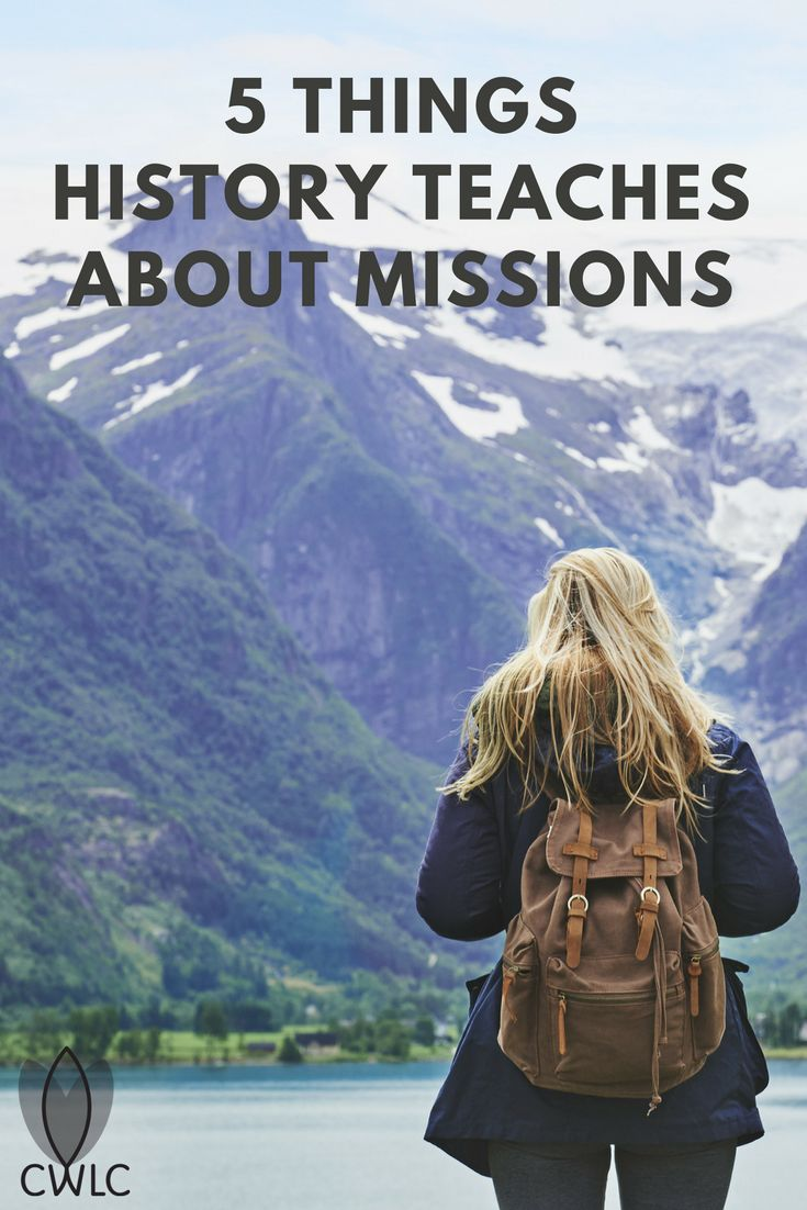 More than 2,000 years of missions history give us valuable examples of how to intentionally live a missional lifestyle. While the word missional is not recognized by the dictionary, missional embodies the heart behind the actions of a true follower of Christ.