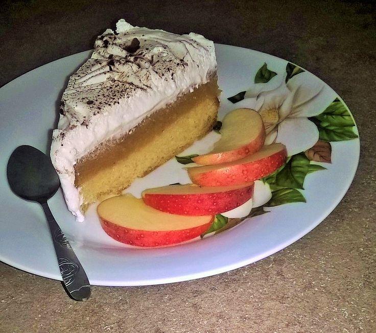 Tort cu mere si frisca ...o minunatie