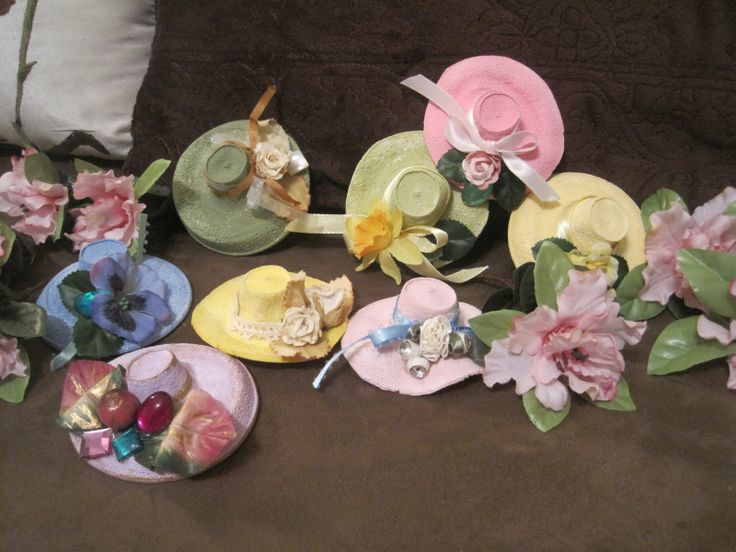 Decoration Hats Made From Melted Styrofoam Cups Wow