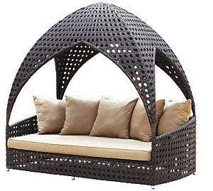 Great place to lounge about in the garden.http://www.ukhomeideas.co.uk/ideas/garden/leisure/novel-new-range-of-garden-huts-from-alexander-rose/