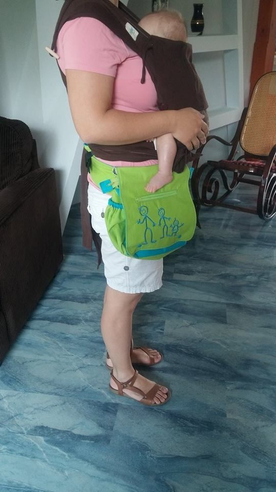 Belt bag for baby carrier. :)