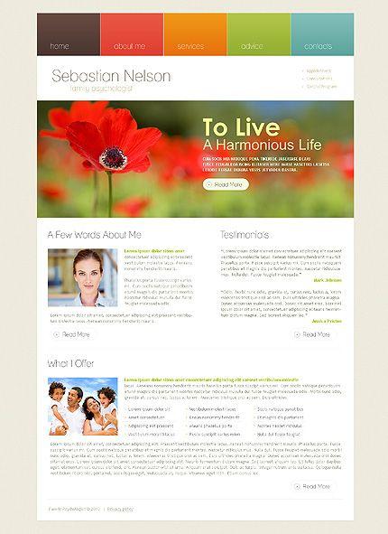 Sebastian Nelson Website Templates by Delta