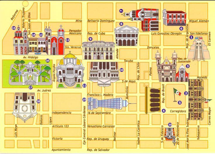 El centro hist rico de la ciudad de m xico c mo puedo for Cajeros automaticos cerca de mi ubicacion
