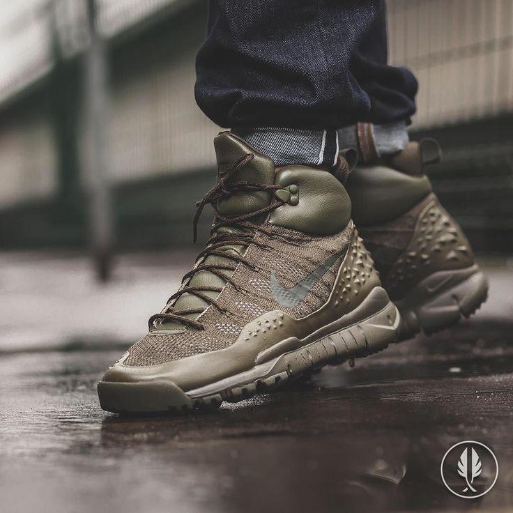"""Nike Lupinek Flyknit"" Cargo | US 7.0 - 12.0 | 249.95 | Now Live @afewstore | @nike @nikesportswear @flyknitclub #Nike #Lupinek #Flyknit #Cargo #UrbanHiking #teamafew #klekttakeover #womft #sneakerheads #sadp #sneakersaddict #hypebeast #highsnobiety #modernnotoriety #basementapproved #sneakernews #snobshots #hskicks #hypefeet #kicksonfire #complexsneakers #sneakerfreaker #sneakerfreakergermany #praisemag #thedropdate #everysize"